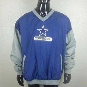 VTG NFL Dallas Cowboys Pullover Windbreaker